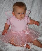 Baby Fairy Tutu with Mini Wings option