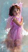 Child Pink Star Fairy Dress