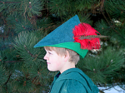 Peter-Pan Robin-Hood-Hat